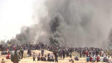 مقتل 6 فلسطينيين خلال مسيرات العودة