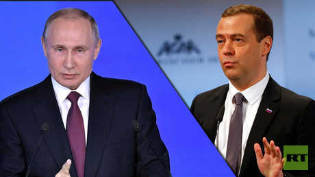 استطلاع للرأي: شعبية بوتين وميدفيدف في ارتفاع