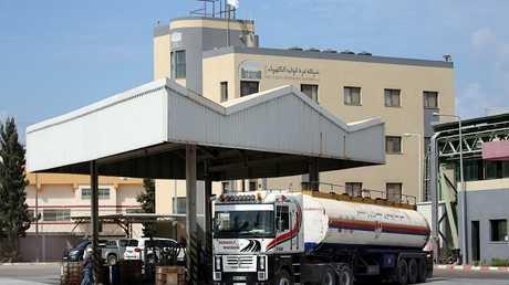 شاحنات الوقود في قطاع غزة