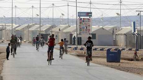 مخيمات اللاجئين السوريين في الأردن