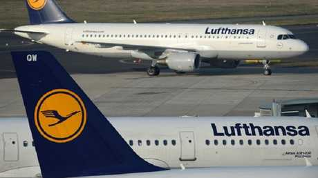 طائرات شركة لوفتهانزا الألمانية - أرشيف