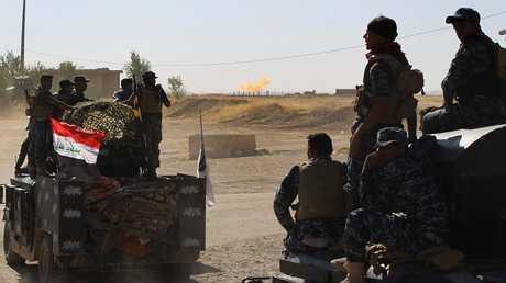 قوات الأمن العراقية في كركوك شمالي العراق - أرشيف