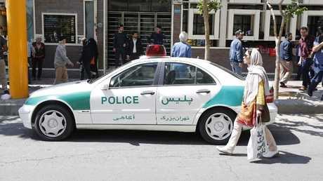 شرطة إيرانية - أرشيف -