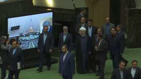 روحاني: واشنطن تسعى لتغيير الحكم بإيران