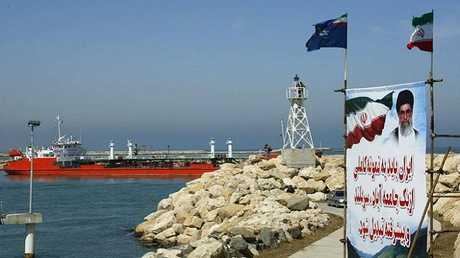 ناقلة نفط إيرانية في بحر قزوين (ًورة أرشيفية)