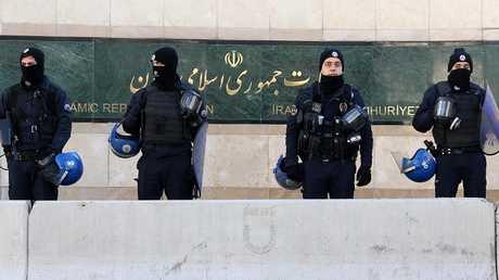 أرشيف - السفارة الإيرانية في أنقرة، 15 ديسمبر 2016