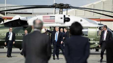 الرئيس الأمريكي دونالد ترامب في الفلبين