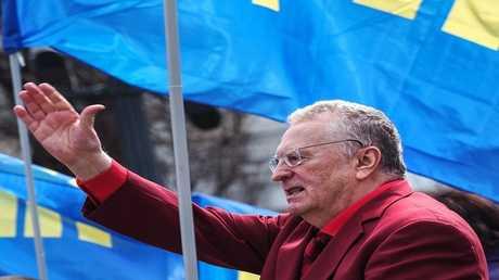 زعيم الحزب الليبرالي الديمقراطي الروسي، فلاديمير جيرينوفسكي