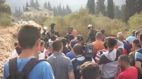 إسرائيل تغلق مدرسة جنوب نابلس