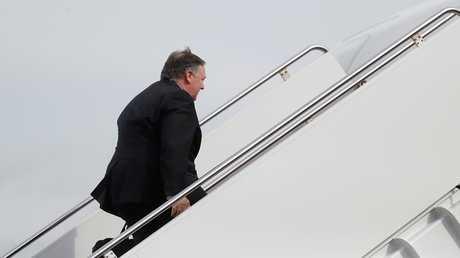 وزير الخارجية الأمريكي مايك بومبيو يتوجه إلى السعودية