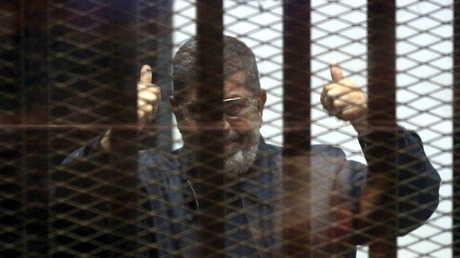 الرئيس المصري الأسبق، محمد مرسي