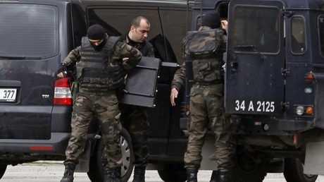 عناصر من قوات الأمن التركية الخاصة (صورة أرشيفية)
