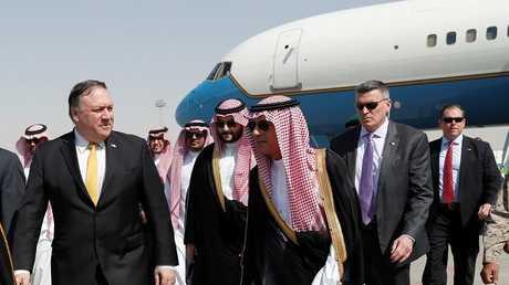 الجبير يستقبل بومبيو في الرياض، 16 أكتوبر 2018