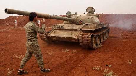 فصائل المعارضة السورية المسلحة تسحب أسلحتها الثقيلة من المنطقة المنزوعة السلاح في إدلب