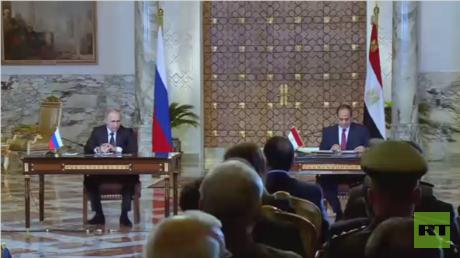 تدريبات عسكرية مصرية روسية مشتركة