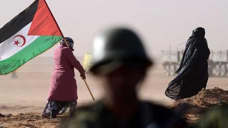 علم الصحراء الغربية - أرشيف