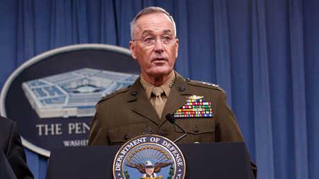 رئيس هيئة الأركان المشتركة الأمريكية، الجنرال جوزيف دانفورد