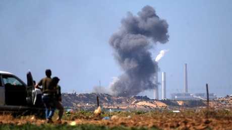 ضربة إسرائيلية على قطاع غزة (أرشيف)