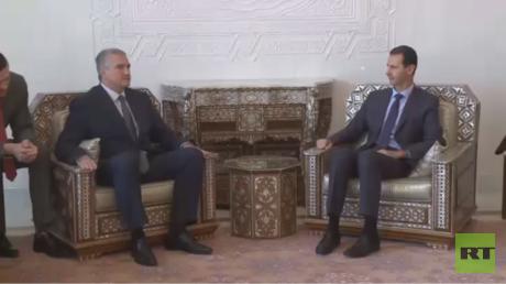 أكسيونوف يدعو الأسد لحضور مؤتمر يالطا