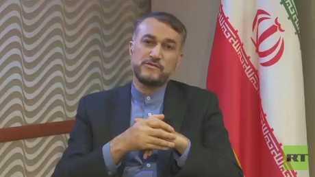 مساعد رئيس البرلمان الإيراني للشؤون الدولية حسين أمير عبد اللهيان