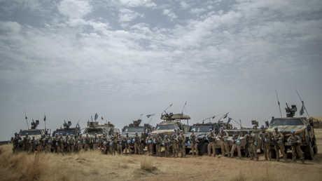 عناصر لقوات حفظ السلام الأممية في مالي