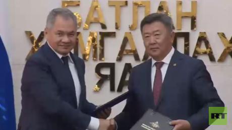 اتفاقية تعاون عسكري بين روسيا ومنغوليا