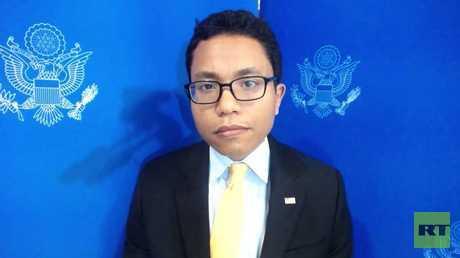 المتحدث الإقليمي باسم الخارجية الأمريكية ناثان تك