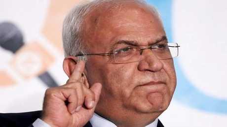 أمين سر اللجنة التنفيية لمنظمة التحرير الفلسطينية صائب عريقات