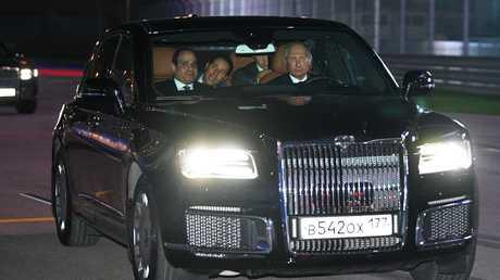 الرئيس بوتين والرئيس السيسي