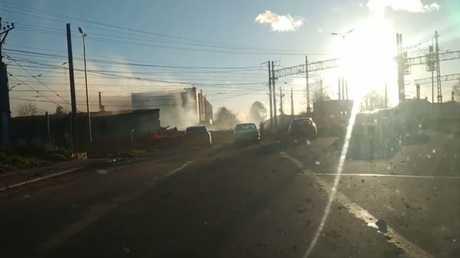 انفجار بمصنع للألعاب النارية في مقاطعة لينينغراد