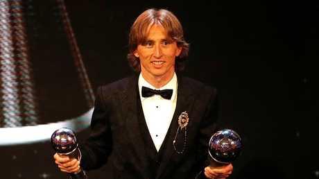مودريتش: أنا لا أستحق جائزة الكرة الذهبية