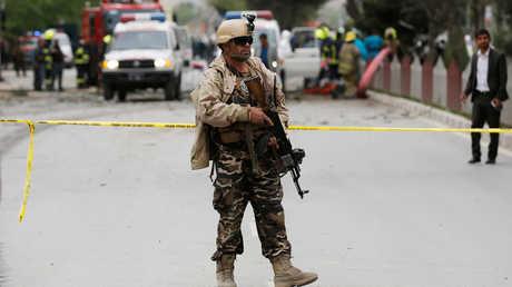 موقع تفجير في أفغانستان - صورة أرشيفية