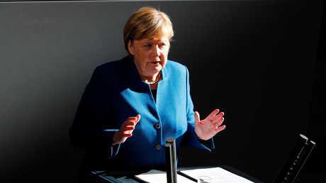 المستشارة الألمانية، أنغيلا ميركل