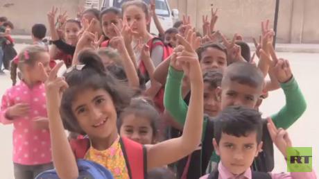 بدء أول عام دراسي في الرقة منذ دحر داعش