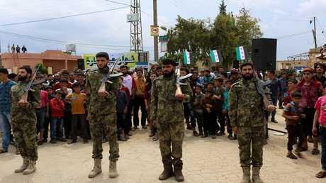 معارضة سورية بريف حلب (صورة من الأرشيف)
