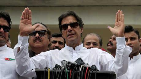 رئيس الوزراء الباكستاني الجديد عمران خان