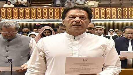 رئيس حكومة باكستان عمران خان
