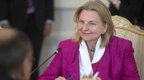 وزيرة خارجية النمسا