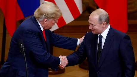 بوتين وترامب في هلسنكي، فنلندا، 16 يوليو 2018