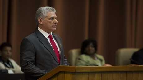 رئيس مجلس الدولة ورئيس مجلس الوزراء في كوبا ميغيل دياز كانيل