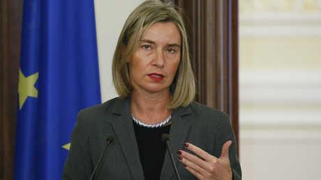 مفوضة الاتحاد الأوروبي السامية للشؤون الخارجية والسياسة الأمنية، فيديريكا موغريني