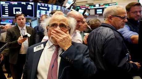 البورصة الأمريكية تبدد مكاسب 2018