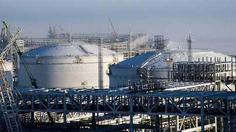 """مصنع """"يامال"""" للغاز المسال في روسيا"""