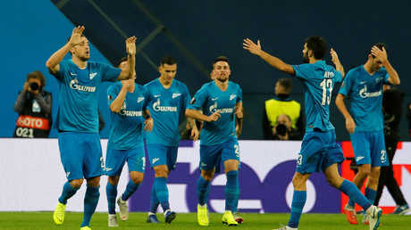 زينيت يهزم بوردو ويتصدر مجموعته في الدوري الأوروبي