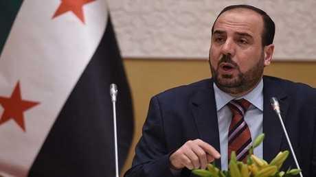 نصر الحريري يأمل في أن يشكل اجتماعه مع لافروف نقطة تحول في حل الأزمة السورية