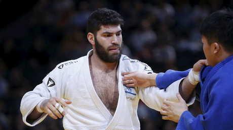 لاعب الجودو الإسرائيلي أوري ساسون