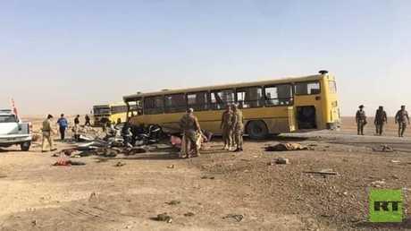 حادث السير في محافظة واسط في العراق