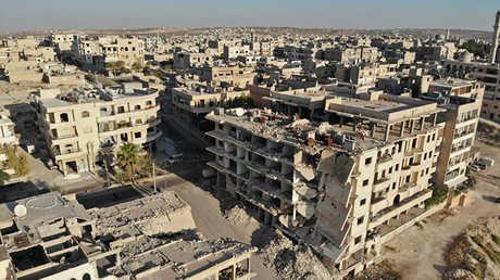 مدينة إدلب (أرشيف)