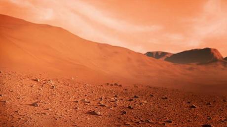 رصد سحابة غامضة قرب بركان ضخم على المريخ!