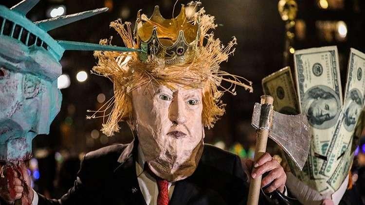 دعوات لاستقالة ترامب في عيد البربارة بأمريكا